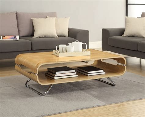 Curved Coffee Table by Jual Curve Oak Coffee Table Jf302 Oak Furniture Solutions
