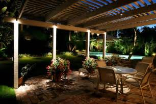 Exterior Patio Lighting Pool With Lights