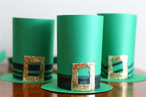 How To Make A Leprechaun Hat Out Of Paper - 5 adorable and easy st s day crafts for we