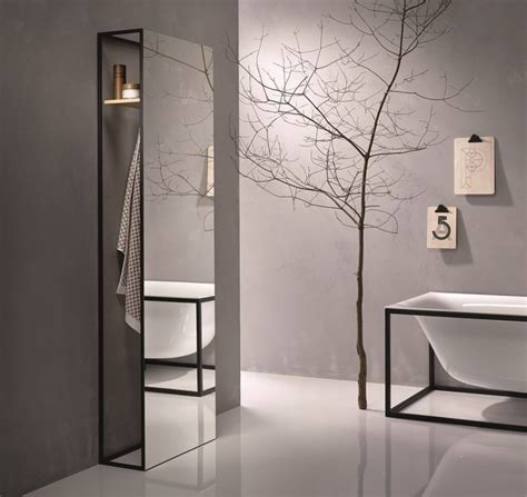porta accappatoio da doccia specchio porta accappatoio bettelux shape collezione
