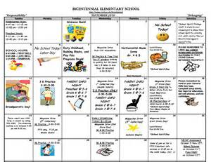 editable kindergarten september calendar template 2016