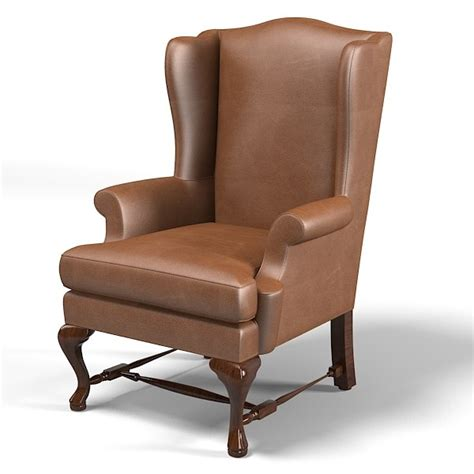 classic wing armchair 3ds max wing chair melrose