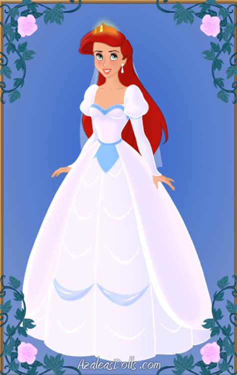 Ariel   Wedding Dress (The Little Mermaid) by annwxyzz on DeviantArt