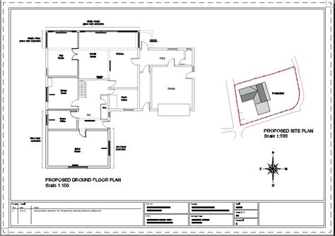 Cad Block Of An A3 Template Cadblocksfree Cad Blocks Free Autocad Site Plan Template