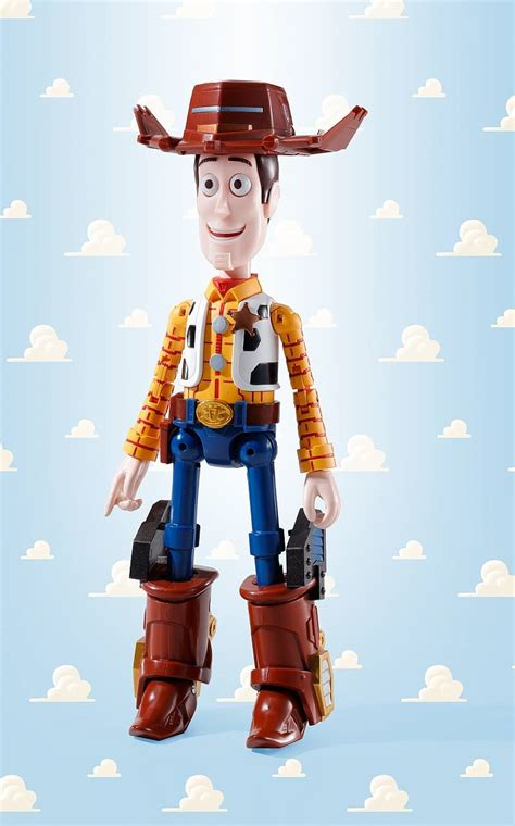Robot Story Koboi Woody chogokin story combination woody robo sheriff the toyark news