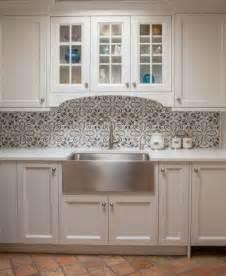 concrete tile backsplash backsplash suzette fox interior design