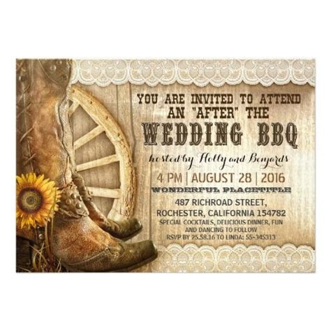 Cowboy Wedding Invitations by 109 Best Images About Rustic Cowboy Wedding Invitations On