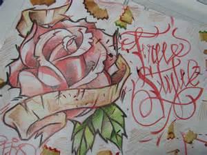 imagenes de rosas en graffiti rosas de graffiti imagui