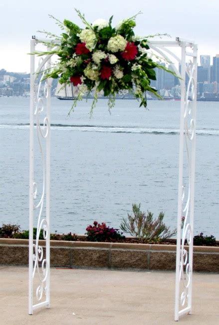 wedding arch flowers arrangements wedding arch flower arrangement products local florist