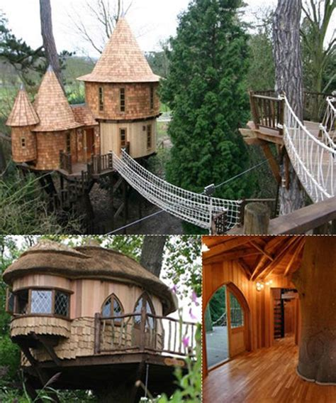 coolest house in the world hogwarts tree house the world s coolest tree houses mom me