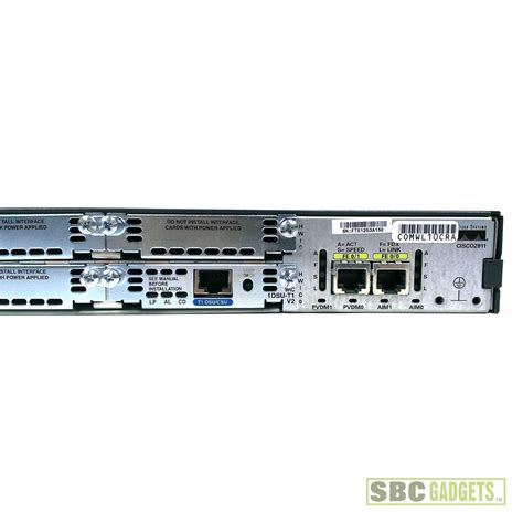 Router Cisco 2811 cisco 2811 integrated services router 64mb flash wic 1dsu t1 v2 ebay