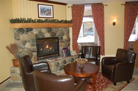 fireplace seating interior 187 sun peaks lodge