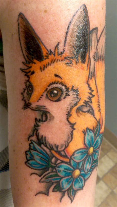 studio 3 tattoo kitsune fox skinhouse studio