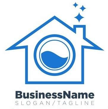 contoh logo laundry jasa desain grafis