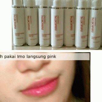 Immortal Essential Pink 3 pemerah bibir permanen paling uh jual kosmetik