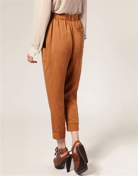 pattern tapered trousers fashion sewing patterns inspiration community and