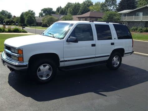auto air conditioning service 1998 chevrolet tahoe engine control find used 1998 chevrolet tahoe lt sport utility 4 door 5 7l mint condition in darien illinois