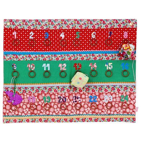 Patchwork Advent Calendar - patchwork fabric advent calendar by guild