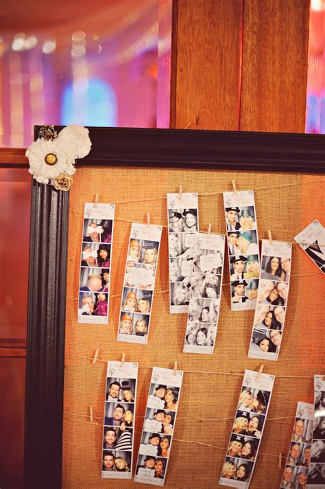 wedding guest dresses cork photobooth guest book on cork board onewed