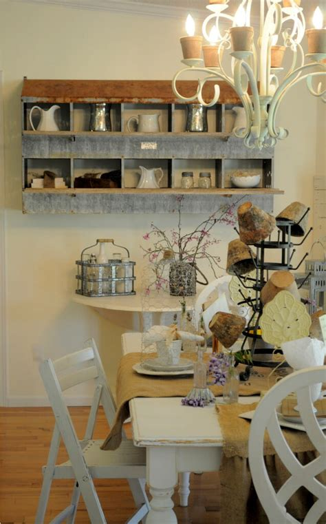 fall dining room antique shelf the nested design company 27 best country cottage style kitchen decor ideas and