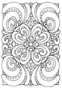 abstract art coloring pagesfree coloring pages kids