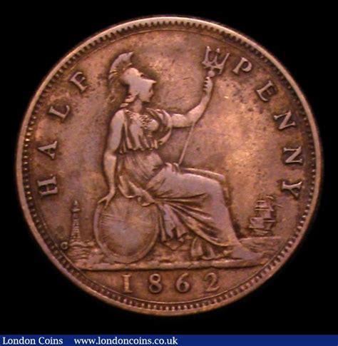 Csh N Finie By C R Collections halfpenny 1862 die letter c freeman 288a dies 7 f