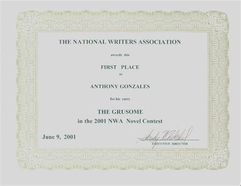 1st place certificate template place certificate template