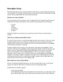 How To Write Descriptive Essay by Writing The Descriptive Essay Teacherlingo