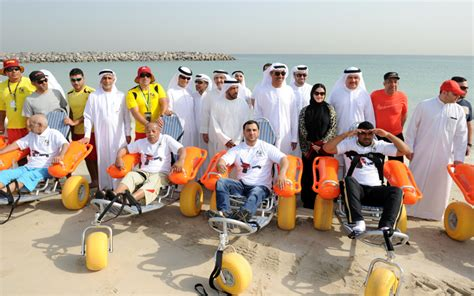 emirates wheelchair assistance dubai s floating wheelchairs for elderly disabled