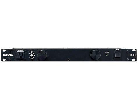furman power conditioner with lights furman m 8lx power conditioner with lights reverb