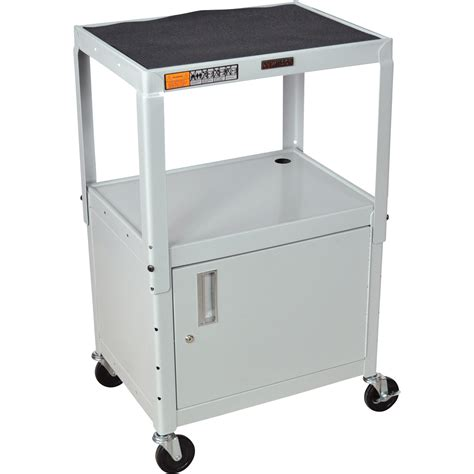 luxor cart with locking cabinet luxor utility cart with locking cabinet 3 shelf 400 lb