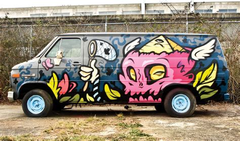 spray painting vans the city as your studio opus supplies