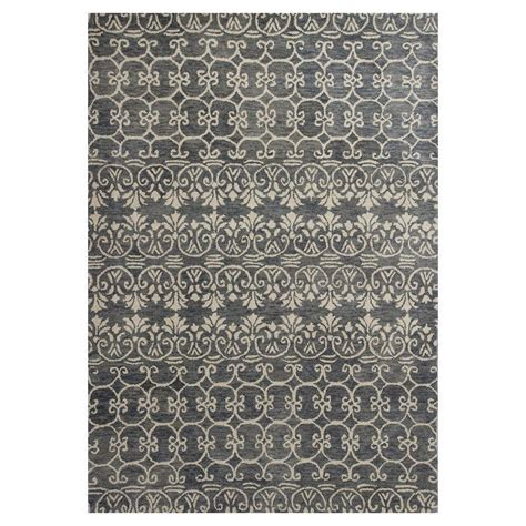 pattern grey rug kas rugs perfect pattern grey ivory 5 ft x 8 ft area rug