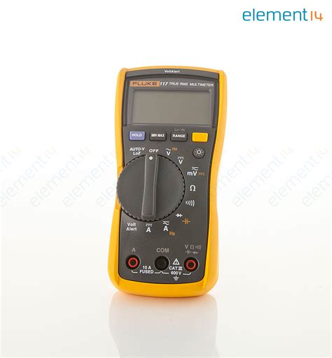 Multimeter Fluke 117 Fluke 117 Fluke Electricians Digital Multimeter Voltalert 110 Series 6000 Count True