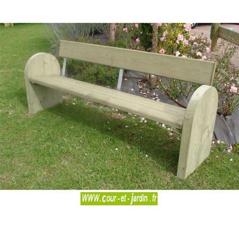banc en bois avec dossier banc avec dossier exterieur banc en bois ext 233 rieur