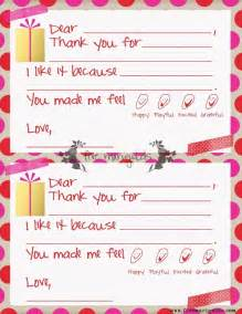 thank you note templates thank you note templates for five marigolds