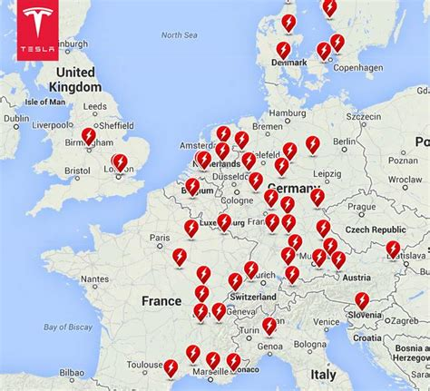 Tesla Supercharger Europe Map Italy Gets Its Tesla Supercharger