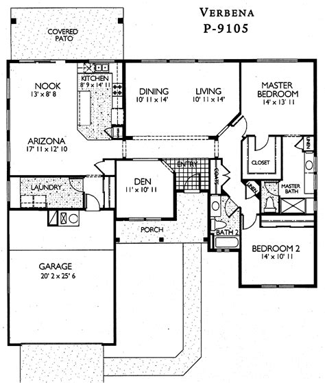sun house plans sun city grand verbena floor plan del webb sun city grand floor plan model home house