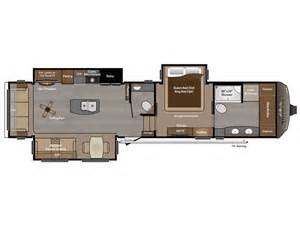 Fifth Wheel Trailer Floor Plans 2016 Keystone Montana 3910fb Floor Plan 5th Wheel Rv