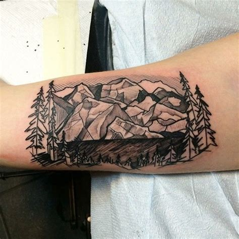 geometric tattoo colorado 60 spectacular mountain tattoo designs and ideas for all