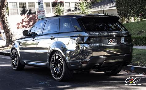 2015 CEC wheels tuning cars suv range Rover sport chrome