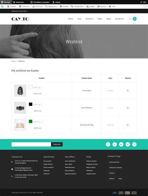 drupal theme vertical menu cayto responsive drupal theme by webcrest themes