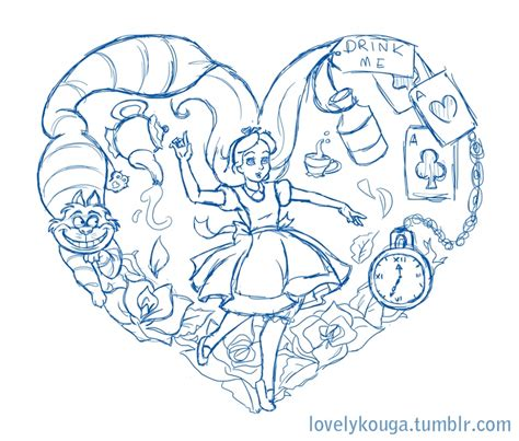 alice in wonderland tattoo designs i says i39m working on