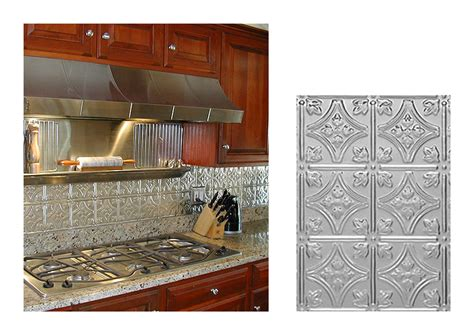 metal backsplashes for kitchens kitchen backsplash ideas decorative tin tiles metal backsplash
