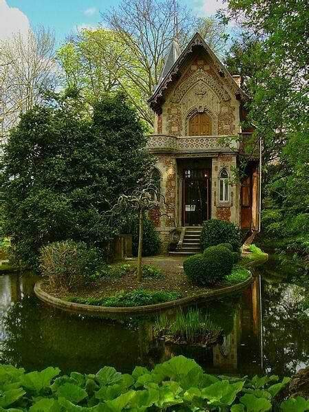 forest cottage germany beautiful places pinterest