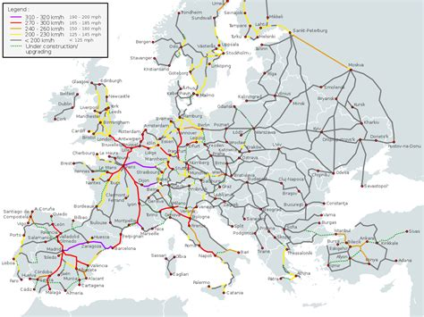 datei high speed railroad map of europe 2015 svg