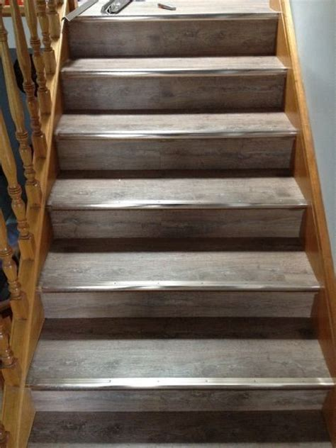 vinyl flooring installation on stairs ask home design