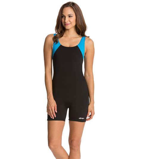 swing suits dolfin aquashape aquatard color block at swimoutlet com