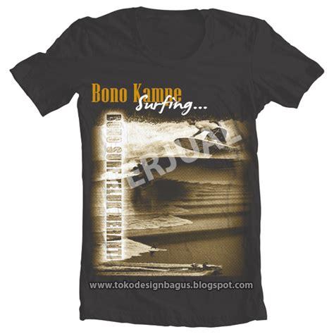 desain kaos ethnic bono ke surfing desain kaos desain t shirt desain