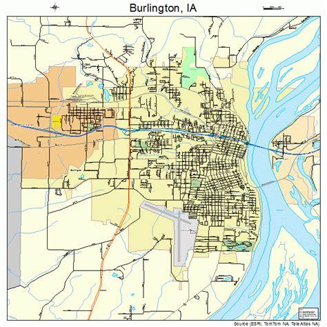 burlington map burlington iowa map 1909550
